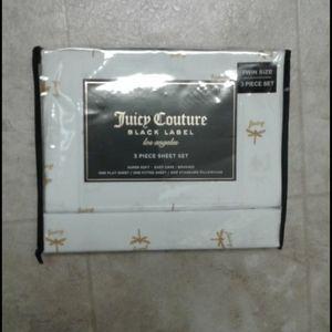 Juicy Couture 3 piece sheet set